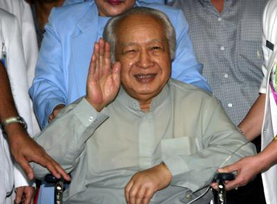 Former Indonesian President Suharto leaves hospital in Jakarta